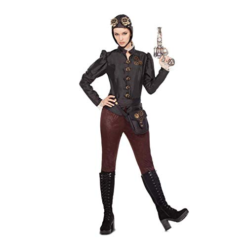 My Other Me Disfraz de Aviadora Steampunk para Mujer: Amazon.es ...