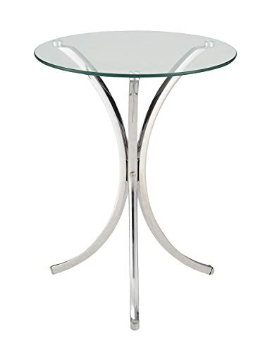 Coaster 902869-CO Accent Table, Chrome Finish
