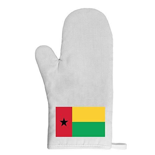 Mygoodprice Ofenhandschuh Topflappen Flagge Guinea Bissau behandeln