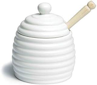 CKS White China Sugar Jam Pot Spoon 11cm or Salt Spoon 10cm