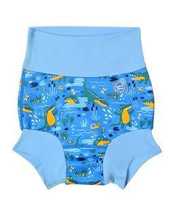 Splash About Unisex Baby Happy Nappy Kleinkind-Schwimmwindel, Crocodile Swamp, 12-24 Monate