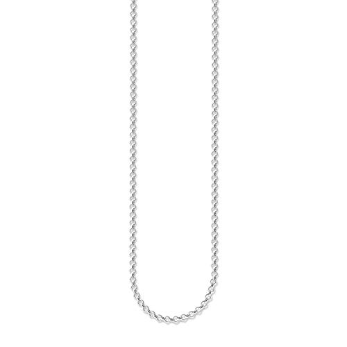 Thomas Sabo Women-Necklace Belcher Chain 925 Sterling silver X0001-001-12-L81