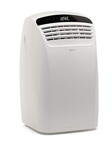Olimpia Splendid 02140 Dolceclima Silent 10 WiFi Climatizzatore Portatile, 10000 BTU/h max,Wi-Fi integrato, 2.6 kW, Natural Gas R290, Design Prodotto in Italia