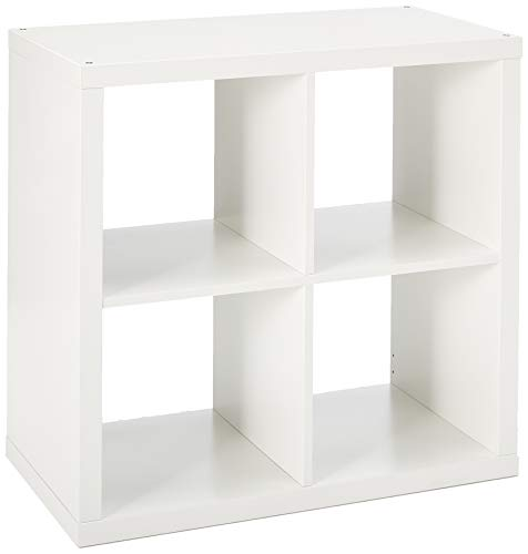 "IKEA KALLAX shelving unit, 30 3/8x30 3/8"""", White"