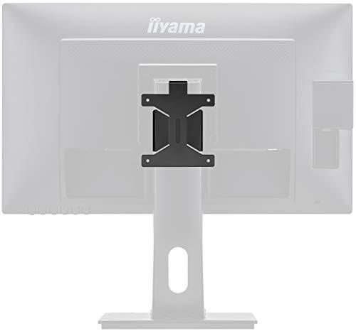 iiyama MD BRPCV03 VESA-Halterung Kit (Vesa 100) für Mini-PC (Thinclient/Zeroclient PCs), Schwarz