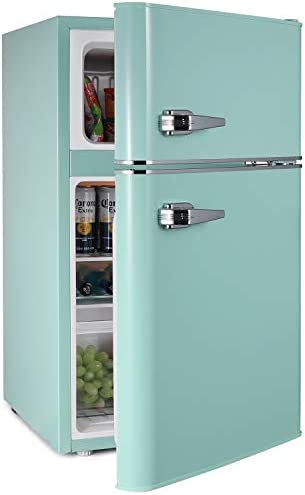 3 2 CU FT Mini Fridge With Freezer 2 Door MIni Fridge Chiller and Freezer Compartment with Removable product image