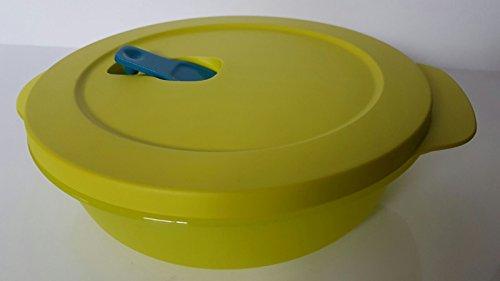 Tupperware Mikrowelle Mikro-Fix 1000ml grün lime Schüssel mit Deckel Premeal Gefriertruhe Büro