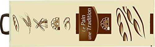 Bolsa para Pan Impresa de Plástico con Asas (Barras y