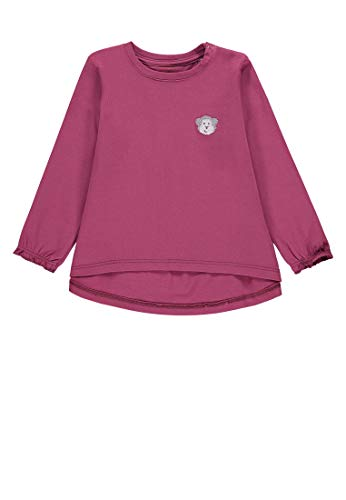 Bellybutton mother nature & me Baby-Mädchen 1/1 Arm T-Shirt, Violett (Dry Rose|Purple 2950), 86