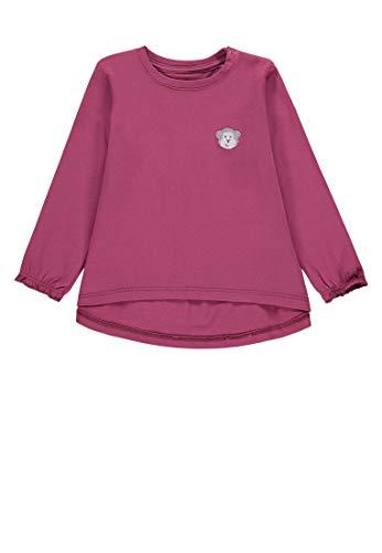 Bellybutton mother nature & me Baby-Mädchen 1/1 Arm T-Shirt, Violett (Dry Rose|Purple 2950), 86