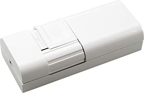 EHMANN 2160x0700 Schnurdimmer T21.07 weiß, Phasenanschnitt, 230V, 50Hz, Leistung: LED 3-35W, 7-110W/VA