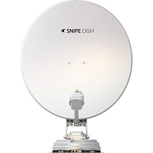 Selfsat Snipe Dish Twin 85 Sat-Anlage, weiß, 2 Ausgänge