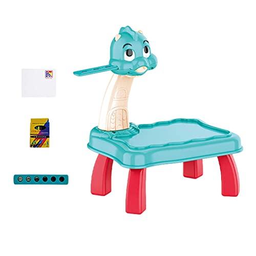 A-A Zeichen Projektor Tisch Für Kinder, Projektor Verfolgen Und Zeichnen Spielzeug, Schreiben Malen Skizzieren Malbrett, Lernen Projektionsmalmaschine Mit Faltbarem Ständer Kinderspielzeug