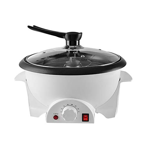 AOUSTHOP Electric Coffee Bean Roaster Machine(Upgraded Version), for Home Use 110V Household Peanut Nuts Cashew Chestnuts Home Coffee Roaster Roasting Machine