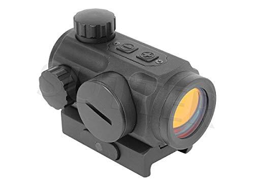 SUTTER Micro Red Dot Reflexvisier 1x20 (rot) / wasserdicht/für Weaver- und Picatinny-Schienen/Zielvisier Leuchtpunktvisier Zielfernrohr für Gewehre Pisolen Softair