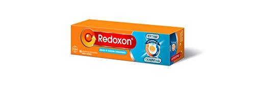 Redoxon Extra Defensas Complemento Alimenticio con Vitamina D, Vitamina C y Zinc, Ayuda al Sistema Inmunitario, Sabor Naranja, 15 Comprimidos Efervescentes