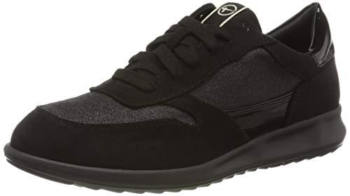 Tamaris Damen 1-1-23625-24 Sneaker, Schwarz (Black Glam 047), 36 EU