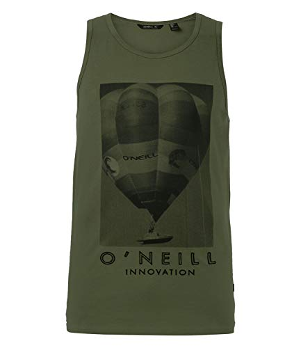 O'Neill Lm Hot Air Balloon Tanktop für Herren L Grün (6077 Winter Moss)