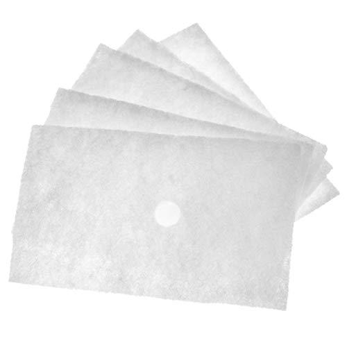 vhbw 5x Luftfilter G2 Ersatz für Lunos 032 913, 032913 für Lüfter, Badlüfter, Ventilator, Lüftungsgerät (5x Grobstaubfilter)