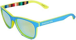 Goodbye, Rita. - Gafas de sol polarizadas azules - Lente espejo- Popeye