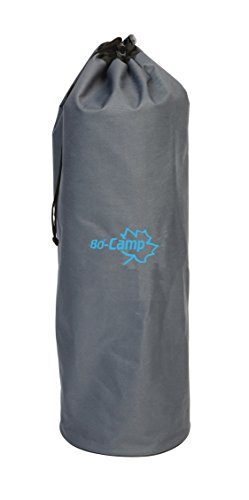 Bo Camp Universal Packsack für Isomatten Thermomatte Tasche Luftmatratze Outdoor anthracite, 70 x 22 cm