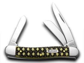 CASE XX Celtic Maze Yellow Stockman 1/1000 Pocket Knife Knives