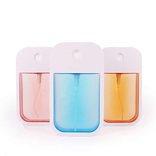 N/O Desinfektionsmittelspender 38ml Desinfektionsspender Seifenspender Taschengröße Seifenspender nachfüllbarer Seifendosierer, 3 Stück für Desinfektionsmittel, Parfüm, feuchte Sprühflasche