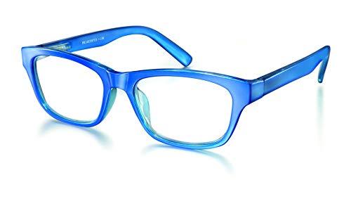 Elly Vision Gafa de Lectura Tendencia Presbicia para Vista Cansada (Hombre-Mujer-Unisex) Graduadas (+3.50) para leer y ver de cerca - Color Azul