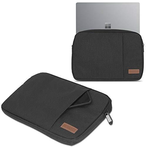 UC-Express Sleeve Hülle Trekstor Primebook C13 Hülle Tasche Notebook Schutzhülle Cover Hülle, Farbe:Schwarz