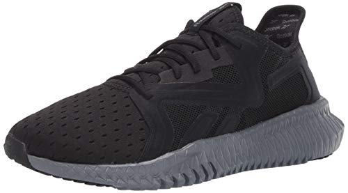 Reebok Men's FLEXAGON 3.0 Cross Trainer, Black/Cold Grey, 11.5 M US