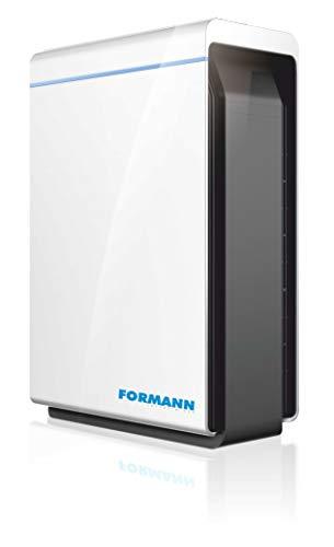 FORMANN Luftreiniger FL400-V mit HEPA H14 Filter | entfernt 99,996% der Viren, Bakterien & Aerosole | Für Allergiker & Raucher | gegen Haustiergerüche, Staub und Pollen | Bis zu 81m²