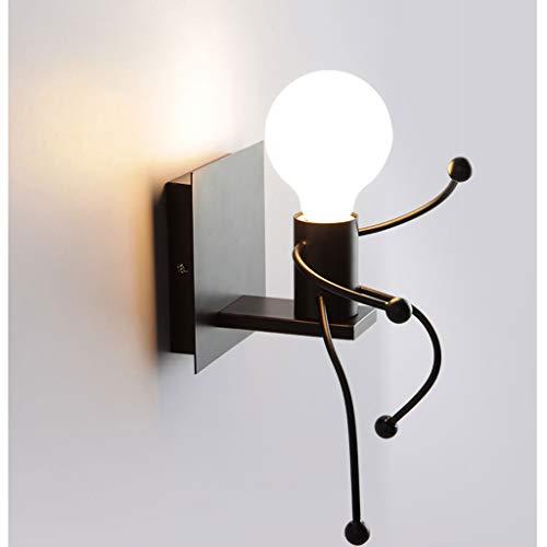 ZHEYANG Apliques Pared Dormitorio Interior Ideal For Sala De Estar Dormitorio Pasillo Y Más (Color : Single Head)