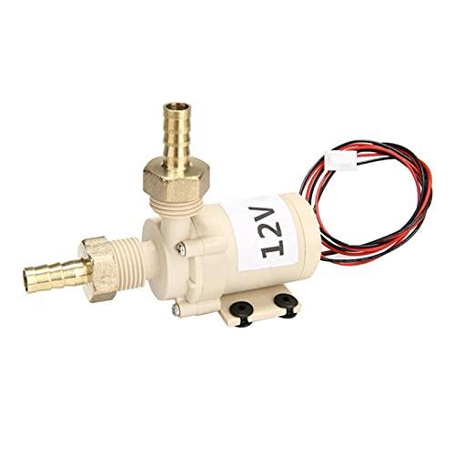 LOEMWJ Bomba Agua Acuario Calentador Impermeable a Prueba de Agua Resistente a la Temperatura con Alta Temperatura de 12V Bomba de Agua Caliente 1/2