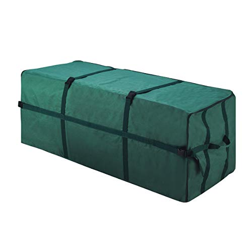Elf Stor 83-DT5031 Heavy Duty Christmas Storage Bag-Holds up to a 7 1/2 Foot Artificial Tree, 48' L x 24' H x 24' W, Green