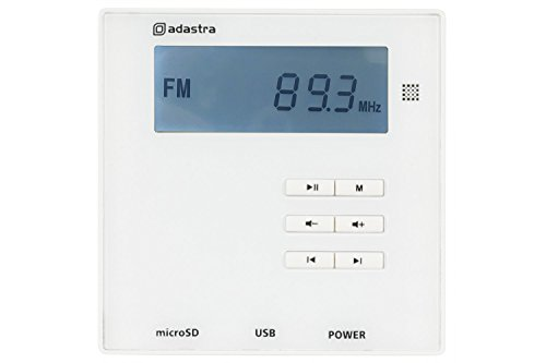 Wall Mount PA Amplifier System with 2x Ceiling Speakers USB SD FM Bluetooth Music Radio For Home/Shop + FREE Speaker Cable