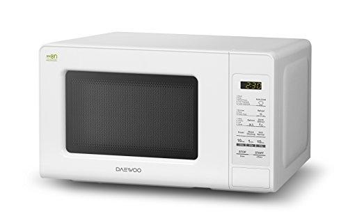 DAEWOO kor-6F0bduo–Mikrowelle, 20Liter, ohne Grill, weiß