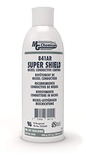 MG Chemicals - 841AR-340G 841AR Super Shield Nickel Conductive Paint, 12 oz Aerosol