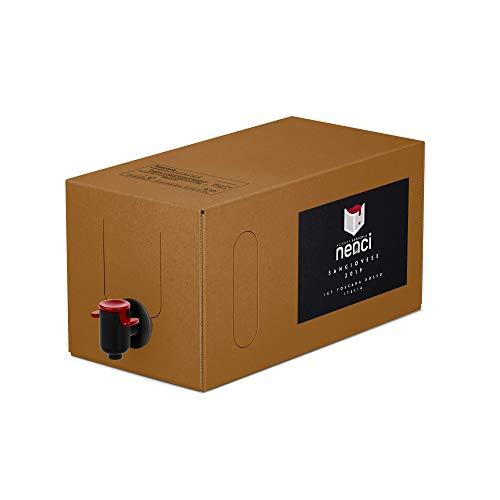 Bag in Box vino Sangiovese Rosso IGT Toscana 13% - Azienda Agricola Nenci - confezione 10 L