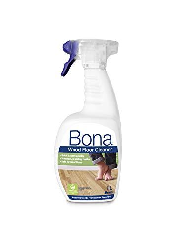 Bona - Detergente spray per pavimenti in legno, 1 litro