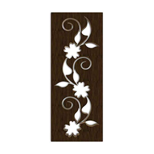 Best Deals! NISH! Decorative Carved MDF Wood Wall Panels for Room Partition, Screen, Divider, Door, ...