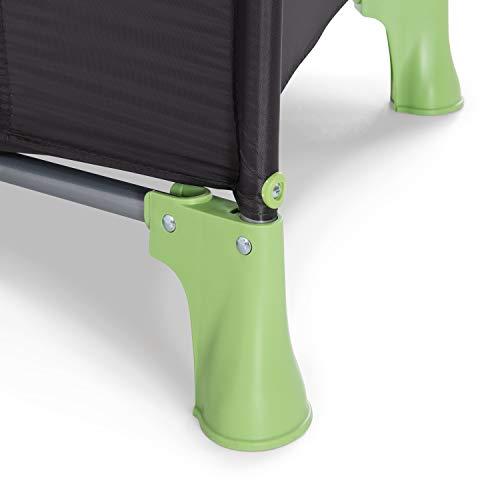 Hauck Kinderreisebett Dream N Play / inklusive Einlageboden und Tasche / 120 x 60cm / ab Geburt / tragbar und faltbar, Wasser (Blau) - 9
