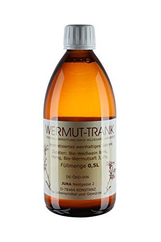 Wermuttrank 0,5 Liter Flasche - Maikurtrank Wermutwein nach Hildegard von Bingen