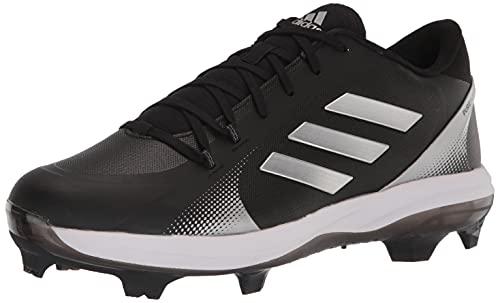 adidas Women's Purehustle 2 TPU Baseball Shoe, Black/White/White, 10.5