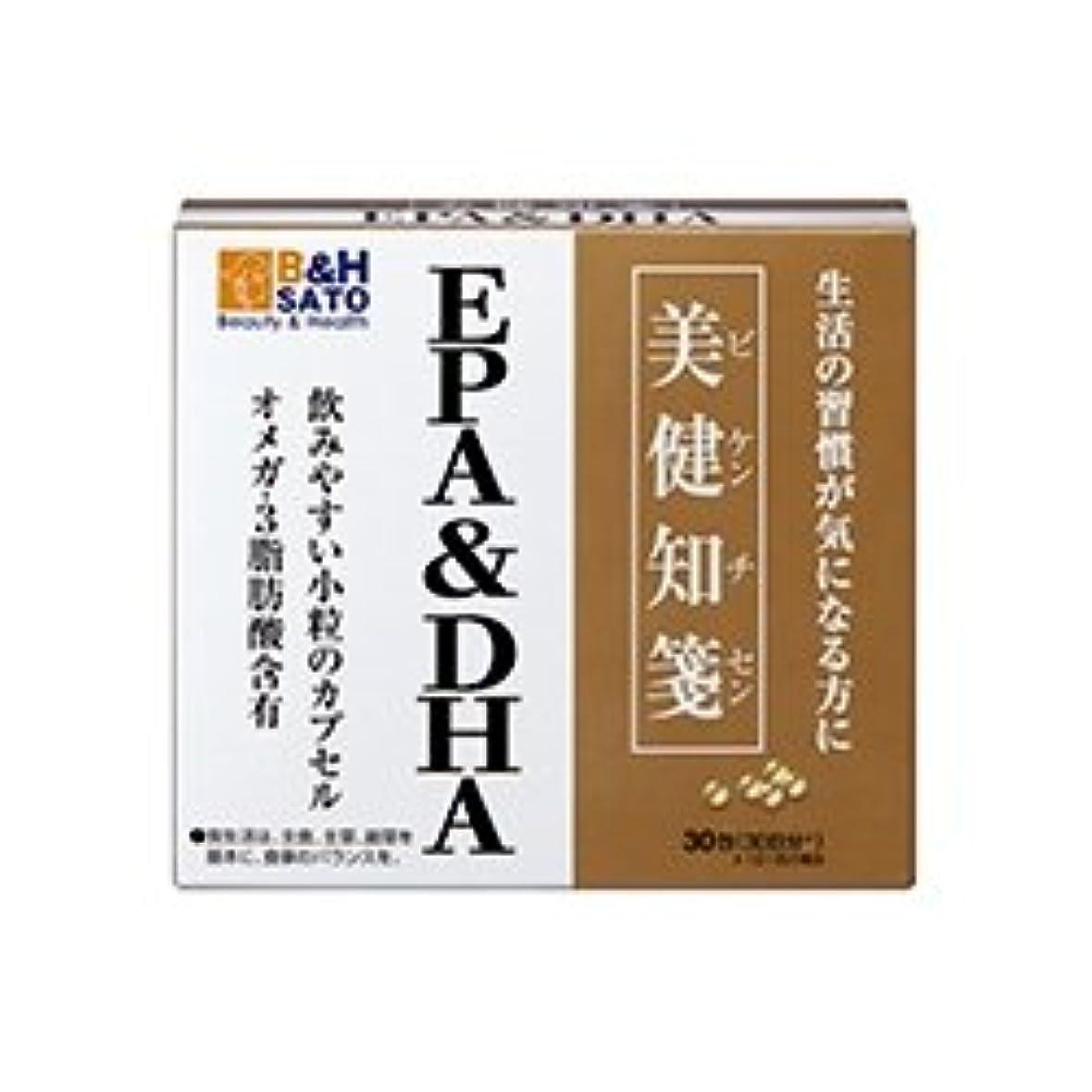 著作権海洋のストライク佐藤製薬 美健知箋 EPA DHA 30包