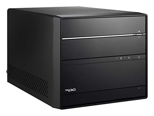 Shuttle XPC Cube Mini PC SH370R6 Plus Noir Intel® H370 LGA 1151 (Emplacement H4) - Barebones PC/Poste de Travail (DIMM, 64 Go, 2400,2666 MHz, DDR4-SDRAM, Dual, 1.2 V)