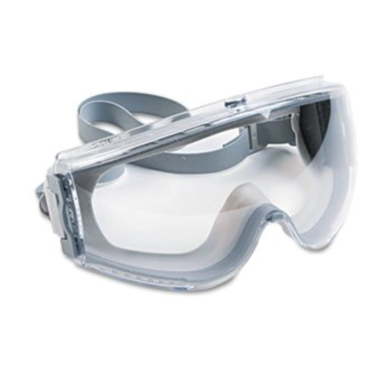 SPERIAN PROTECTION AMERICAS Stealth Antifog, Antiscratch, Antistatic Goggles, Clear Lens, Gray Frame