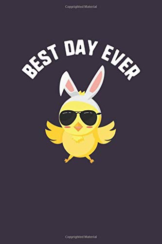 Best Day Ever: Chick Sunglasses Easter Kids Journal