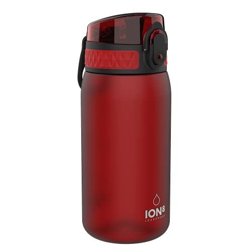 Ion8 Borraccia Bambini Senza Perdite, Senza BPA, Peperoncino Rosso