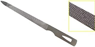 4.5 Inch Triple Cut Stainless Steel Nail File (3 Pack)