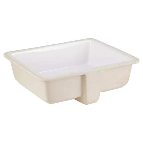 Big Save! Signature Hardware 447967 Destin 20 Porcelain Undermount Bathroom Sink